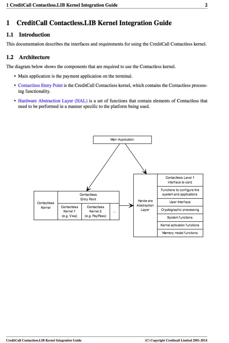 EMV Level 2 Kernels